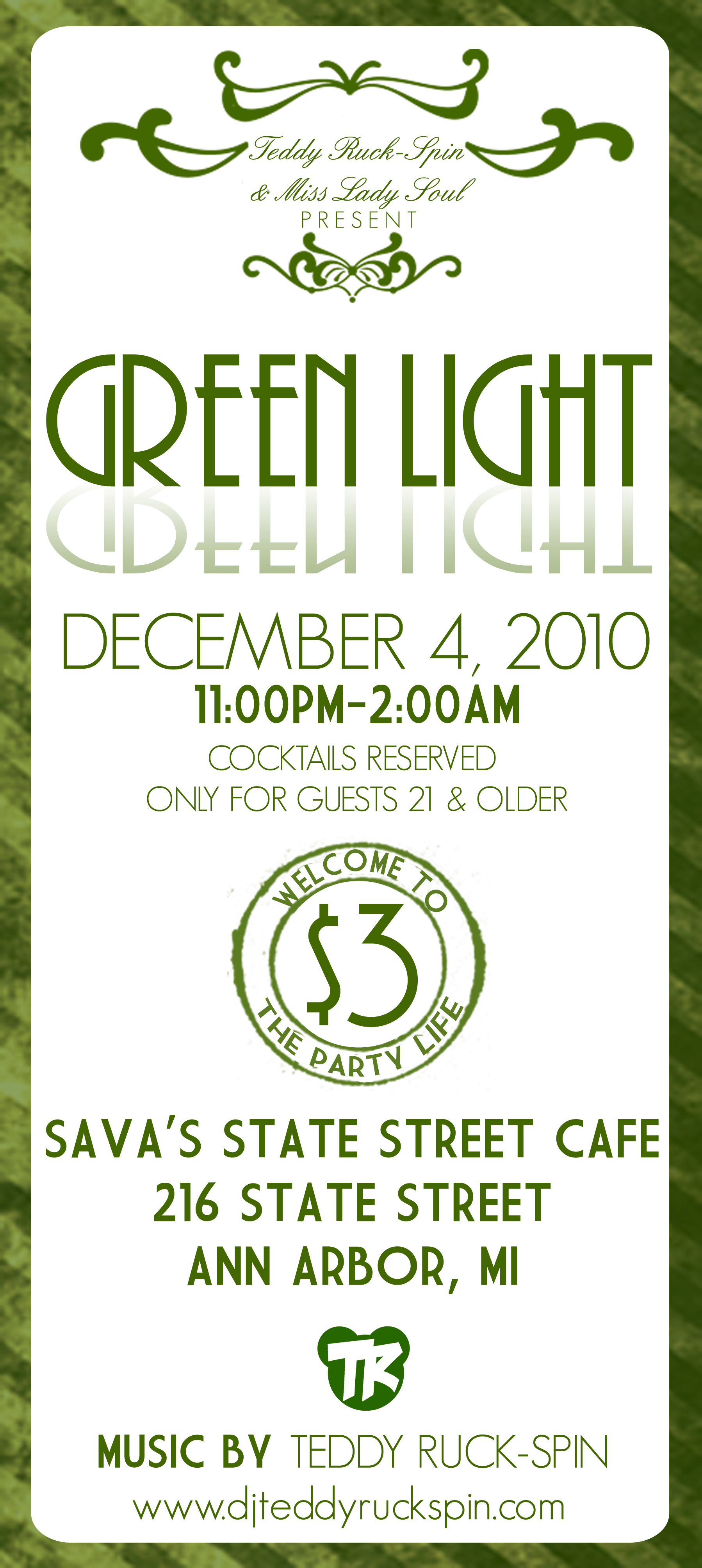 GREEN LIGHT flier 12.4