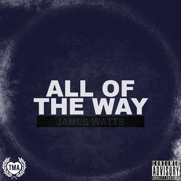 James Watts - All Of The Way Artwork